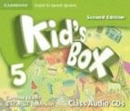 Kid S Box 5 For Spanish Speakers Class Audio Cds 2nd Edition